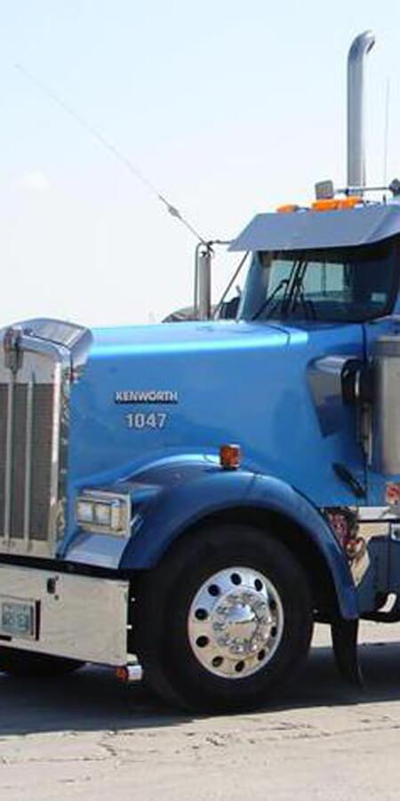 Zoomed in Truck