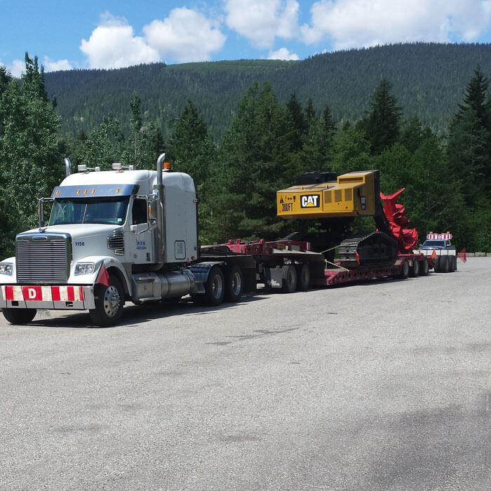 Semi pulling equipment