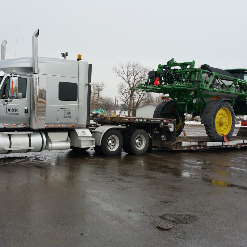 Truck pulling equipment